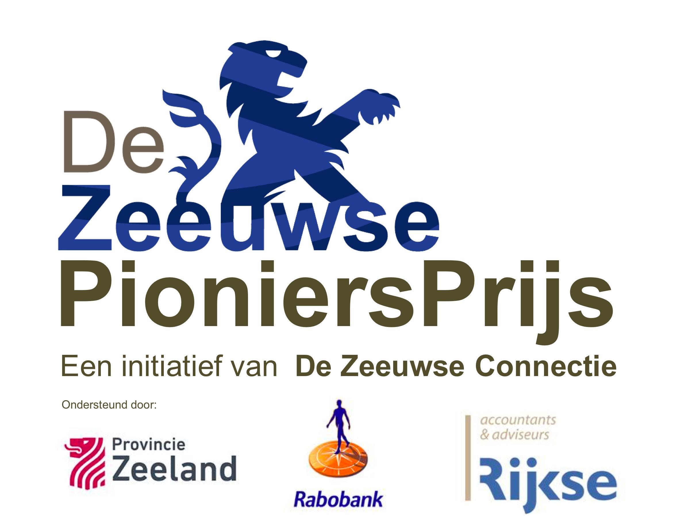 Sponsoren Zeeuwse PioniersPrijs